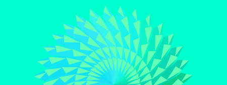 Abstract background texture blue green colorful with rays swirl spiral geometric vector illustration pattern seamless wallpaper backdrop art graphic design futuristic