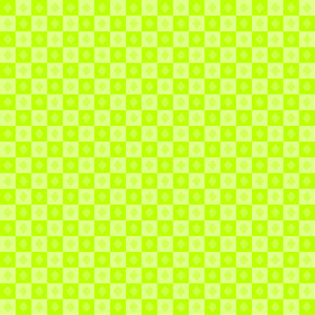 Vector : abstract background with green color texture, decoration architecture, mosaic wallpaper, chessboard, plaids, fashion fabric, template, frame, illustration art graphic design retro style pattern seamless vintage