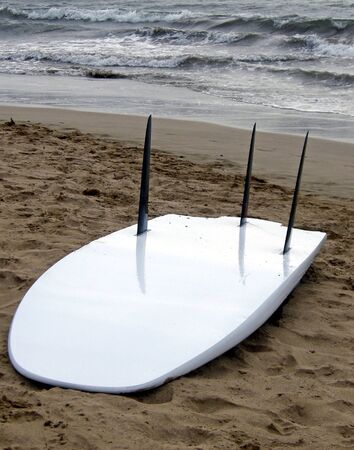 beached: Beached board