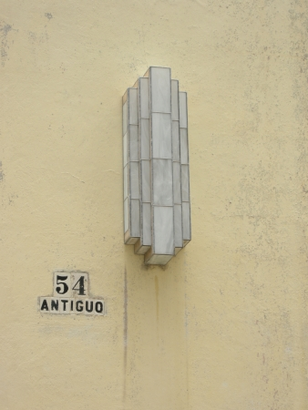 artdeco: luz deco de arte en La Habana, Cuba