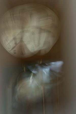 reloj de pendulo: un reloj de p�ndulo Foto de archivo