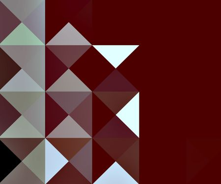 Geometric composition for webdesign