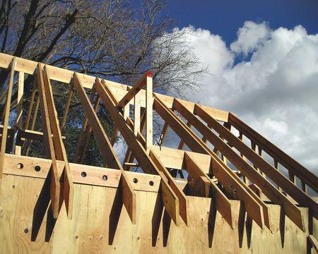 Building a home Stock fotó