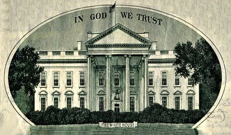The White House etching