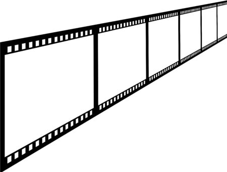strip show: Footage sample Stock Photo