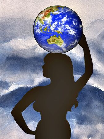 Woman and the world
