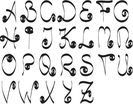my new invention of letters
