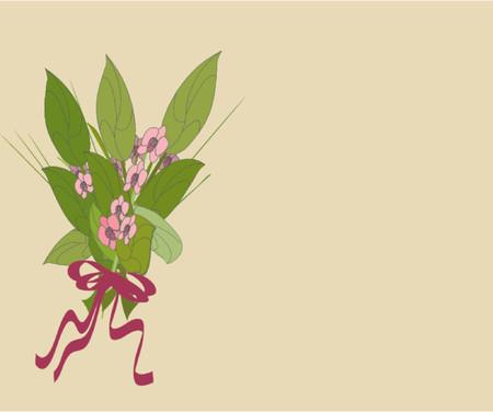 bouquet of flowers Illusztráció