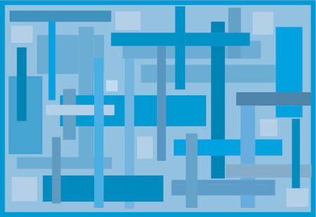 geometric background Illusztráció