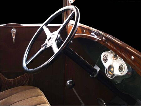 Interior of an oldsmobile