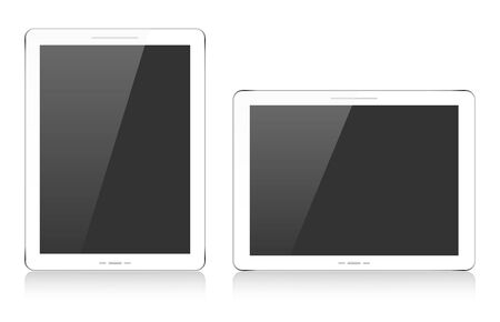White tablets Vector