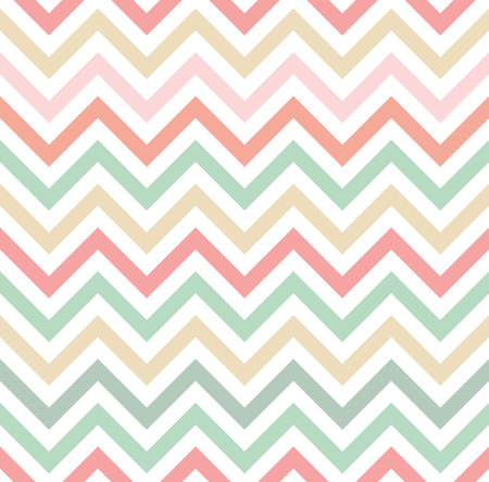 pastel colored: Pastel colored chevron pattern