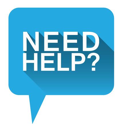 need help: Blue  need help   bubble