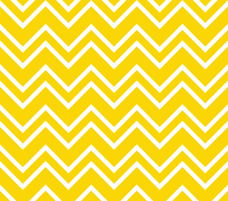 Yellow and white chevron seamless pattern