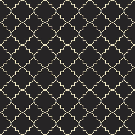 quatrefoil: Moroccan style seamless pattern