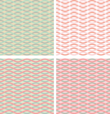 pastel backgrounds: Set of pastel colored abstract backgrounds