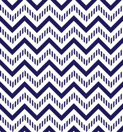 Bleu marine et blanc chevron, seamless