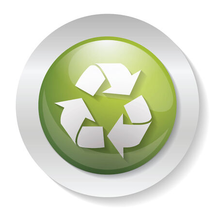 application recycle: Recycling button Illustration