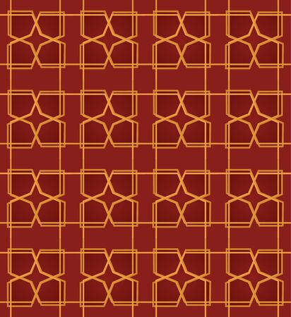 moorish: Seamless abstract pattern, for backgrounds