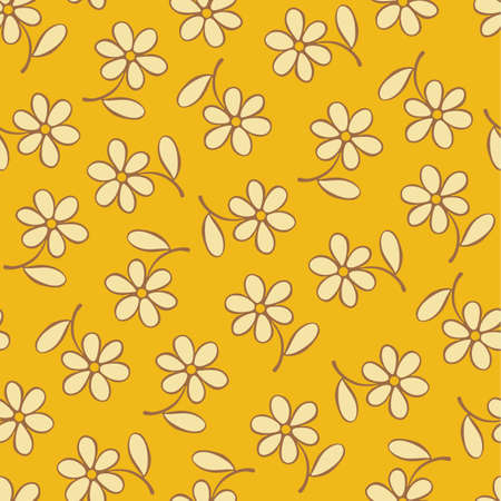 moorish: Seamless floral pattern, for backgrounds Illustration