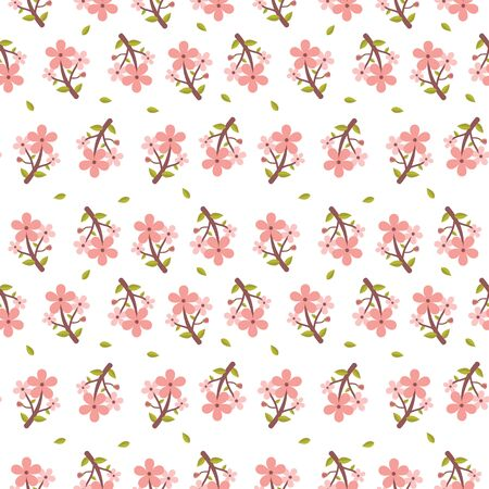 Seamless floral pattern for backgrounds Иллюстрация