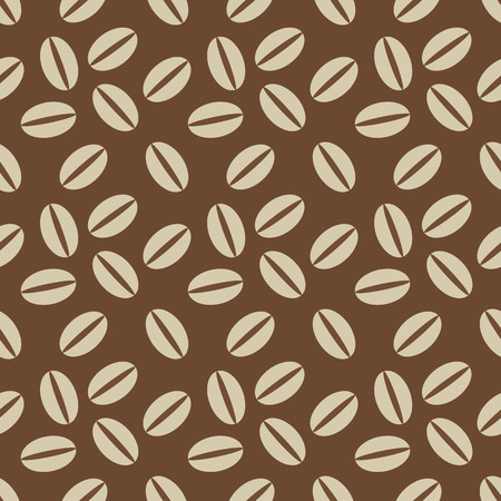 Seamless coffee pattern for backgrounds