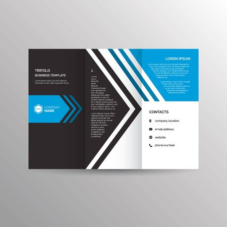 A Brochure Template Royalty Free Cliparts Vectors And Stock