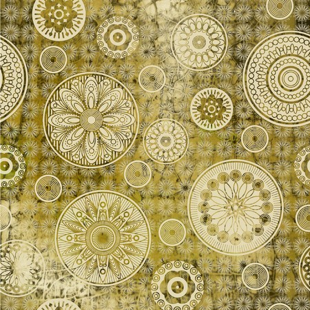 art floral ornament grunge background photo