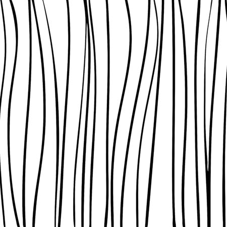 Vector pattern abstract black and white stripes.  イラスト・ベクター素材