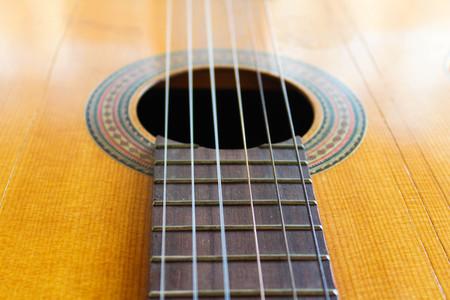 Guitar Detail Banco de Imagens