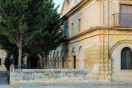 Ancient Building Patio