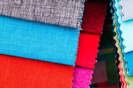 Cloth Samples Stock Photo