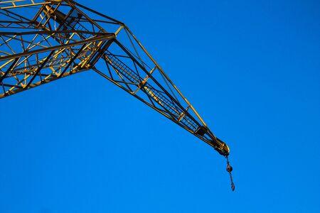 Crane in Yellow