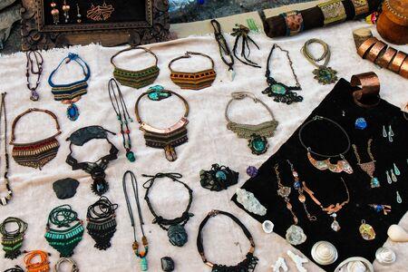 Bracelets Earrings Jewelery Banco de Imagens
