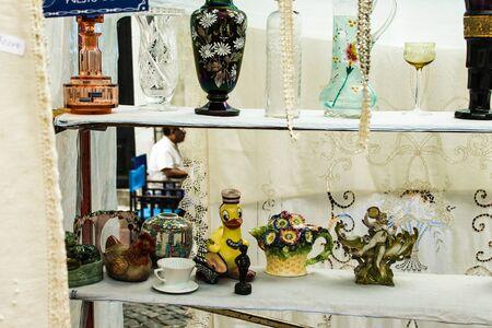 Vintage Objects background.