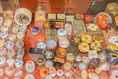 Vintage Objects Archivio Fotografico - 131833704