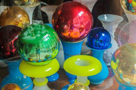 Colorful Lamps Archivio Fotografico - 131833712