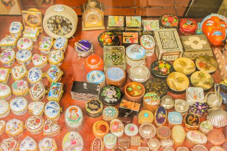 Vintage Objects Archivio Fotografico - 131833720