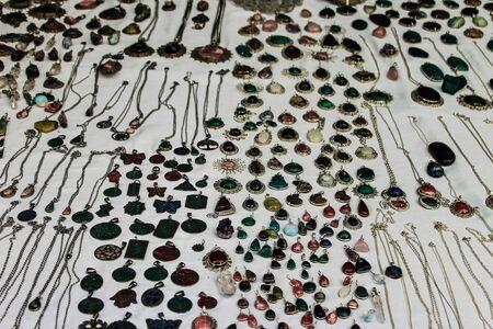 Handcraft Jewelery Archivio Fotografico - 131833820