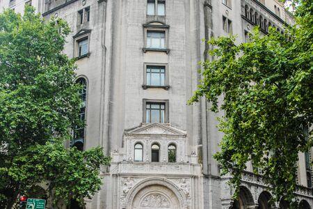 Vintage Building Detail Archivio Fotografico - 131833827