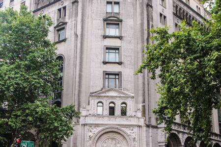 Vintage Building Detail Archivio Fotografico - 131833890