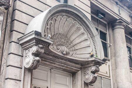 Vintage Building Detail Archivio Fotografico - 134273937