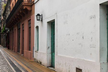 Vintage Building Detail Archivio Fotografico - 134276387