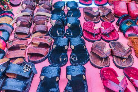 Sandals Slipper Archivio Fotografico - 134276425