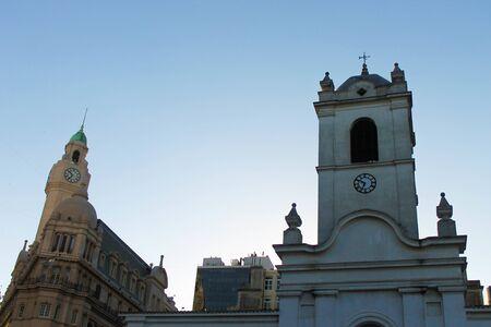 Cabildo Building in Buenos Aires 스톡 콘텐츠