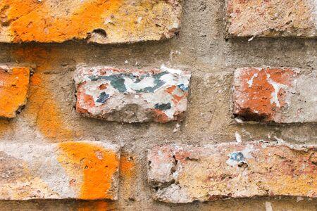 Brick Wall Detail 版權商用圖片