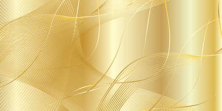 matallic: Gold background, vector illustration. Texture