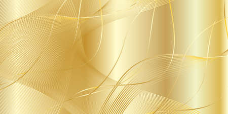 Gold background, vector illustration. Texture