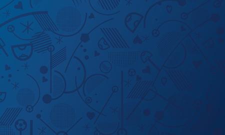 El fútbol abstracta fondo azul. Foto de archivo - 58035947 1f25e148b25ff