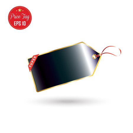 Price tag. Price tag icon. Black price tag isolated on white background. Tag market. Tag Holiday shopping. Price tag discount. Sale label. Vector Black Friday. Cyber Monday. Sale Winter, Advertising.